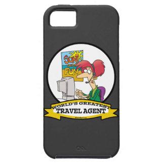 WORLDS GREATEST TRAVEL AGENT WOMEN CARTOON iPhone SE/5/5s CASE