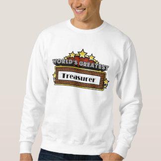 World's Greatest Treasurer Sweatshirt