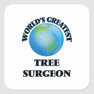 World's Greatest Tree Surgeon Sticker
