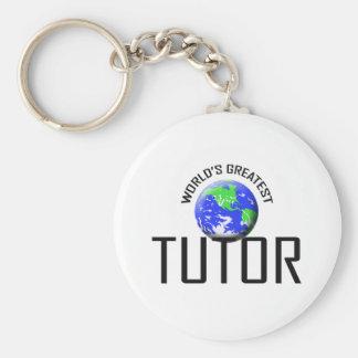 World's Greatest Tutor Keychain