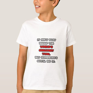 World's Greatest Twin Joke T-Shirt