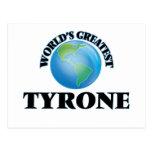 World's Greatest Tyrone Postcard