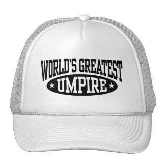 World's Greatest Umpire Trucker Hat