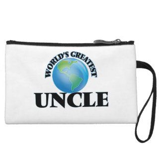 World's Greatest Uncle Wristlet Purse