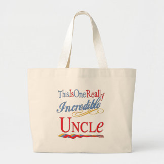 World's Greatest Uncle Canvas Bag