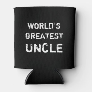 World's Greatest Uncle can cooler