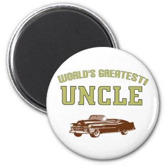 World's Greatest Uncle! Fridge Magnet