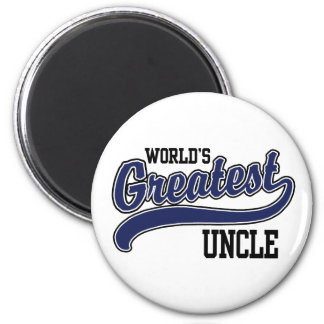 World's Greatest Uncle Fridge Magnets