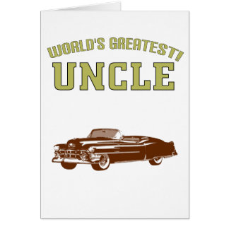World's Greatest Uncle! Greeting Card