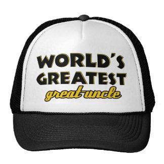 World's greatest uncle trucker hat