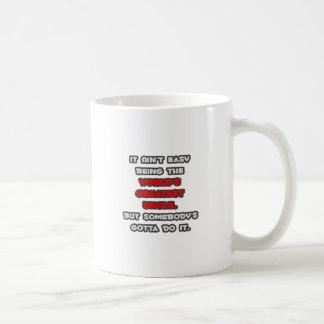 World's Greatest Uncle Joke Classic White Coffee Mug