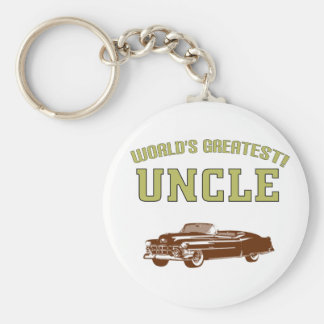 World's Greatest Uncle! Key Chain