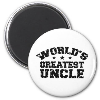 World's Greatest Uncle Refrigerator Magnet