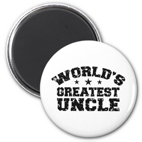 World's Greatest Uncle Magnet