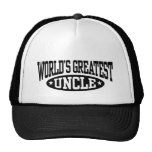 World's Greatest Uncle Mesh Hat