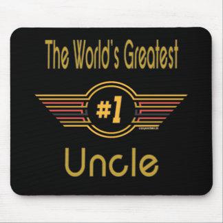 World's Greatest Uncle Mouse Pad