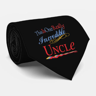 World's Greatest Uncle Neck Tie