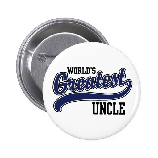 World's Greatest Uncle Pin