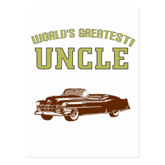 World's Greatest Uncle! Postcard