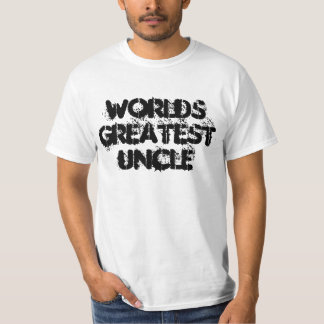 worlds greatest uncle t shirt