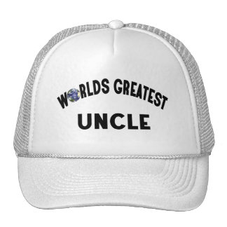 Worlds Greatest Uncle Trucker Hat