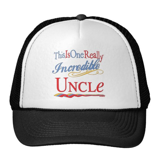 World's Greatest Uncle Trucker Hat