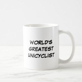 """World's Greatest Unicyclist"" Mug"