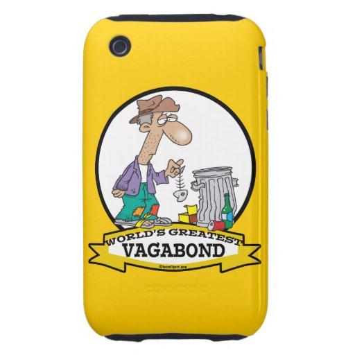 WORLDS GREATEST VAGABOND MEN CARTOON iPhone 3 TOUGH COVERS
