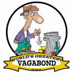 WORLDS GREATEST VAGABOND MEN CARTOON ACRYLIC CUT OUTS