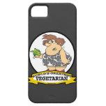 WORLDS GREATEST VEGETARIAN CARTOON iPhone 5 CASES