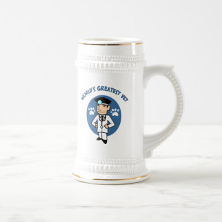 World's Greatest Vet Gifts and Tees Beer Stein