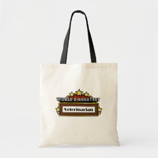World's Greatest Veterinarian Budget Tote Bag