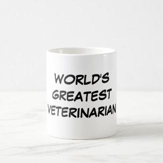 """World's Greatest Veterinarian"" Mug"
