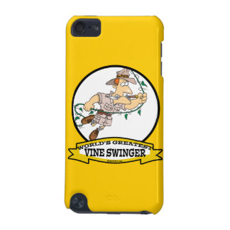 WORLDS GREATEST VINE SWINGER MEN CARTOON iPod TOUCH (5TH GENERATION) COVER