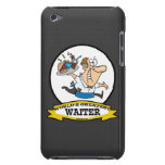 WORLDS GREATEST WAITER II MEN CARTOON BARELY THERE iPod CASE