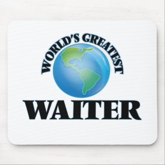 World's Greatest Waiter Mouse Pad