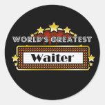World's Greatest Waiter Sticker