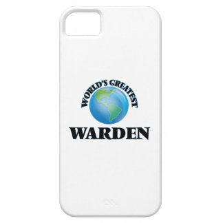 World's Greatest Warden iPhone 5 Case