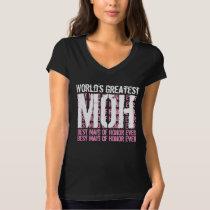 World's Greatest Wedding Maid of Honor MOB V02 T-Shirt