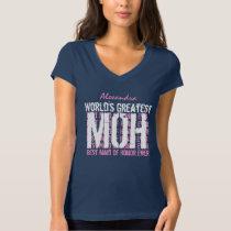 World's Greatest Wedding Maid of Honor MOB V02C T-Shirt