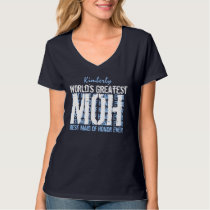World's Greatest Wedding Maid of Honor MOH V02F T-Shirt