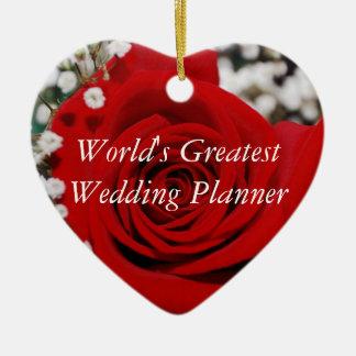 Worlds Greatest Wedding Planner Ornament