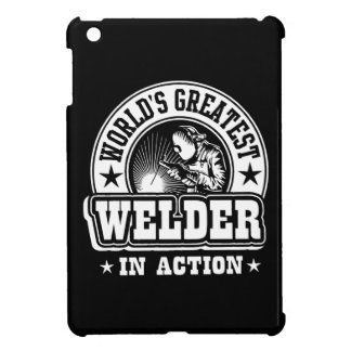 World's Greatest Welder In Action iPad Mini Cover