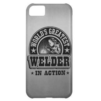 World's Greatest Welder In Action iPhone 5C Cover