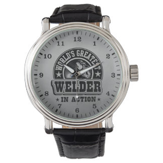 World's Greatest Welder In Action Wristwatches