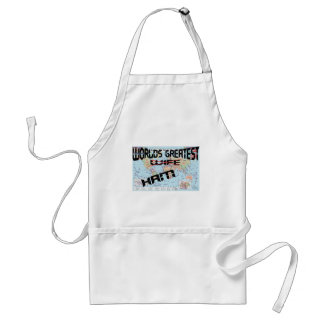Worlds Greatest Wife Adult Apron