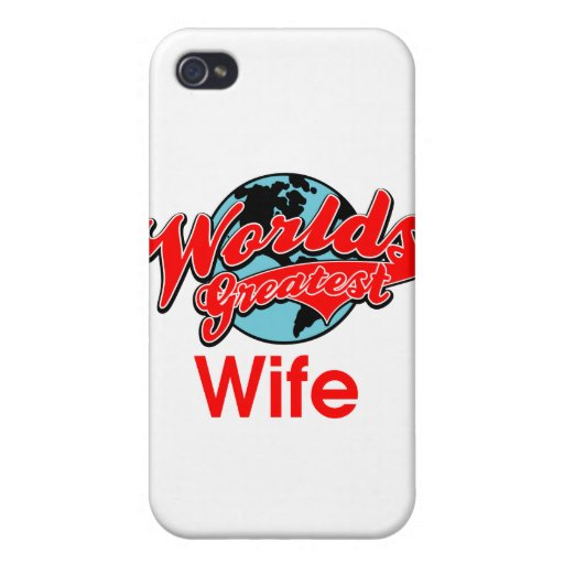 World's Greatest Wife Case For iPhone 4