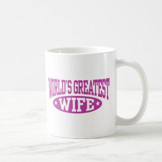 World's Greatest Wife Classic White Coffee Mug