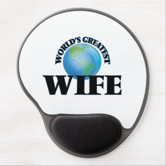 World's Greatest Wife Gel Mouse Mats