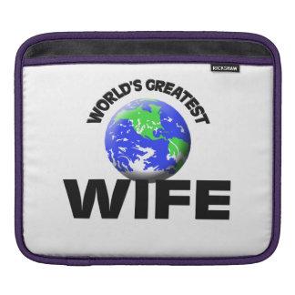 World's Greatest Wife iPad Sleeves